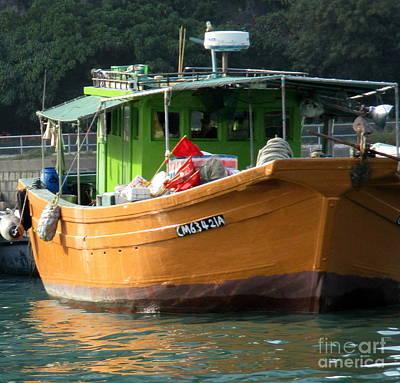 Photograph - Hong Kong Harbor 6 by Randall Weidner