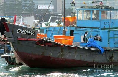 Photograph - Hong Kong Harbor 7 by Randall Weidner