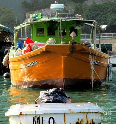 Photograph - Hong Kong Harbor 9 by Randall Weidner
