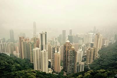 Hong Kong Photograph - Hong Kong Misty by Nick Conner