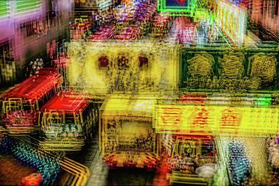 Photograph - Hong Kong Nights by Yancho Sabev