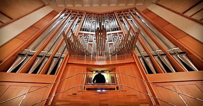 Photograph - Hong Kong Pipe Organ by Jenny Setchell