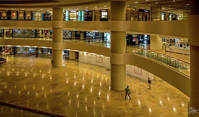 Photograph - Hong Kong Shopping Mall by Endre Balogh