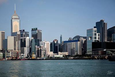 Photograph - Hong Kong Skyline 2 by Endre Balogh