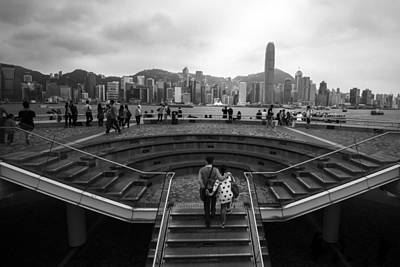 Photograph - Hong Kong Steps by Matt Malloy