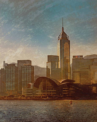 Photograph - Hong Kong - Hong Kong Sunrise by Mark Forte