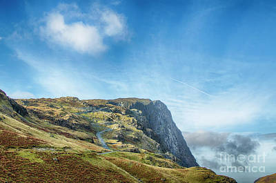 Photograph - Honister Slate Mine by Linsey Williams