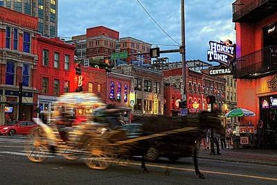 Photograph - Honky Tonk Central by Carol Montoya