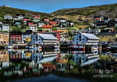 Photograph - Honningsvag, Norway by Shirley Mangini