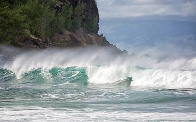 Photograph - Honokohau Bay by Randy Hall
