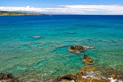Photograph - Honolua Bay Maui by Waterdancer