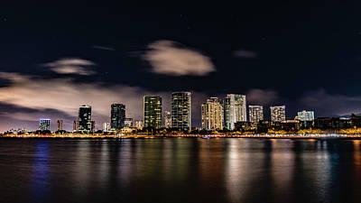 Photograph - Honolulu Skyline by Jason Jacobs