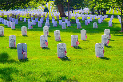 Photograph - Honor And Respect For The Fallen by Jeff at JSJ Photography