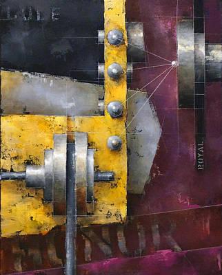 Painting - 15.011 - Honor Code by Ken Berman