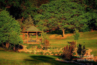 Photograph - Honor Heights Gazebo by Tamyra Ayles