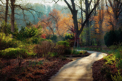 Photograph - Honor Heights Park Morning Color by James Barber