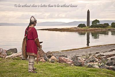 Viking Photograph - Honor by Liz Leyden