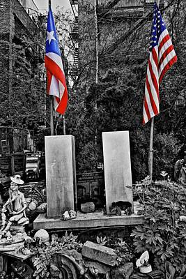 Photograph - Honoring 9 11 by Joan Reese