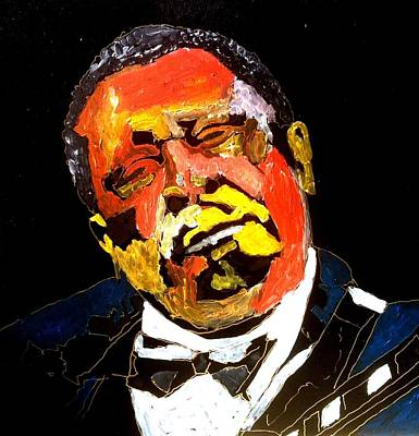 Painting - Honoring Bb King by Neal Barbosa