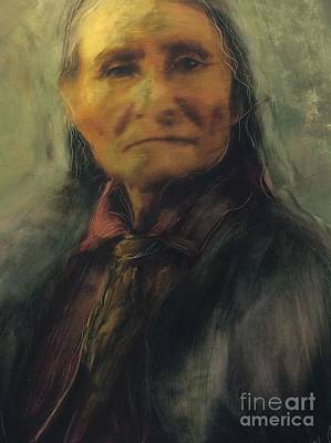 Painting - Honoring Geronimo by FeatherStone Studio Julie A Miller