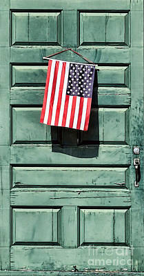 Photograph - Honoring The Usa by Janice Drew