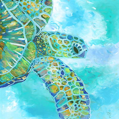Painting - Honu 11 by Marionette Taboniar
