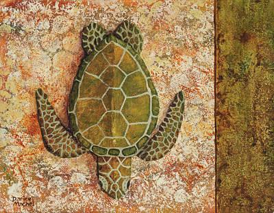 Painting - Honu Maui 2 by Darice Machel McGuire