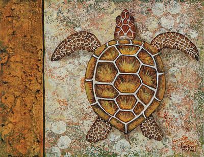 Painting - Honu Maui by Darice Machel McGuire