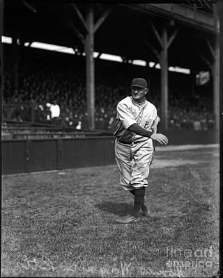 Photograph - Honus Wagner - Pittsburgh Pirates by David Bearden
