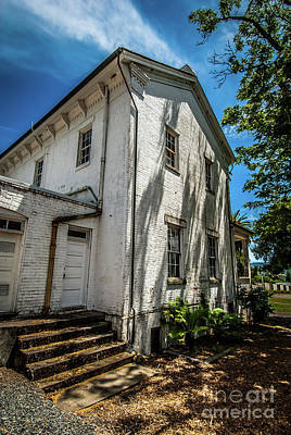 Photograph - Hood House Side View by Blake Webster