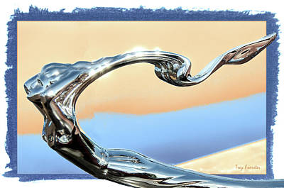 Photograph - Hood Ornament 1 by Trey Foerster