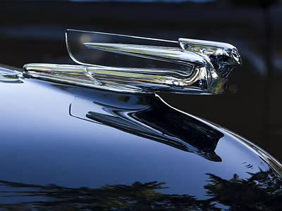 Photograph - Hood Ornament by Jean Noren