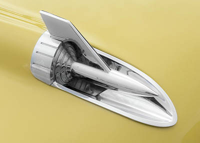 50s Photograph - Hood Rocket by Jim Hughes