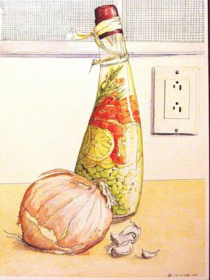Onion Mixed Media - Hood Seasonings  by D K Betts