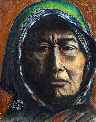 Painting - Hooded Woman by Michael Foltz