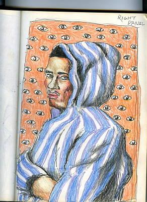 Hoodies Drawing - Hoodie by Darryl Gouch