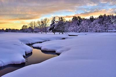 Photograph - Hoodkroft-winter1 by John Sweeney