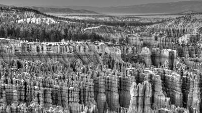 Photograph - Hoodoo Army by Robert Melvin