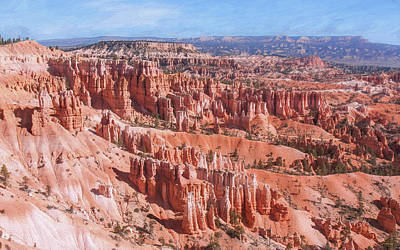 Photograph - Hoodoo Forest At Bryce Canyon by John M Bailey