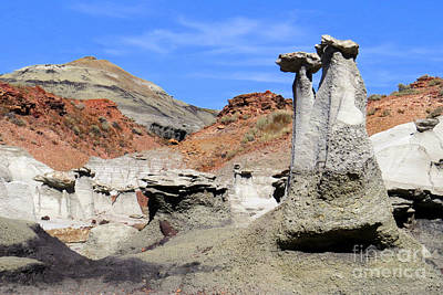Photograph - Hoodoo Pair by Frank Townsley