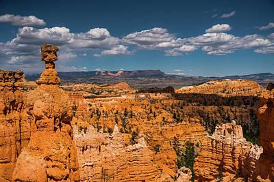 Photograph - Hoodoo Pile-up Bryce Canyon National Park Utah by Lawrence S Richardson Jr