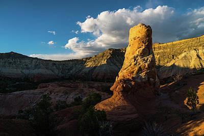 Photograph - Hoodoo Sunset Kodachrome State Park Utah by Lawrence S Richardson Jr
