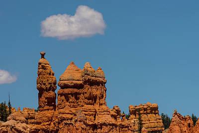 Photograph - Hoodoo Temple Bryce Canyon National Park Utah by Lawrence S Richardson Jr