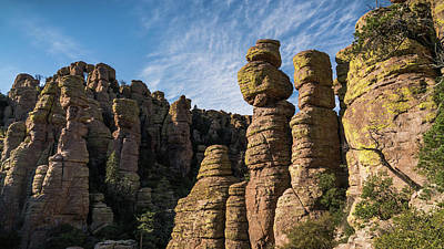 Photograph - Hoodoos At Chiricahua National Monument In Arizona by Lawrence S Richardson Jr