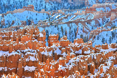 Photograph - Hoodoos Bleachers by Ray Mathis