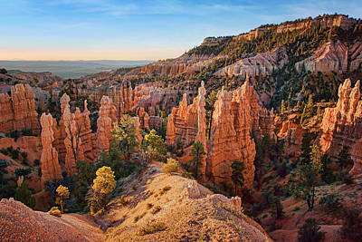 Photograph - Hoodoos - Fairyland Canyon - Bryce by Nikolyn McDonald