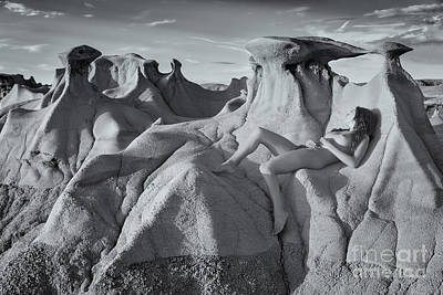 Fine Art Nude Figure Study Photograph - Hoodoos by Inge Johnsson