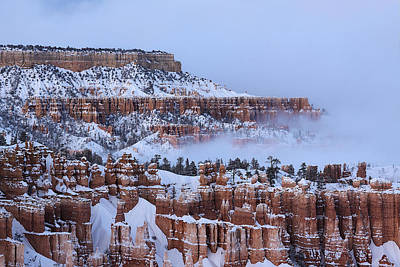 Photograph - Hoodoos Layers In Bryce Canyon by Viktor Savchenko