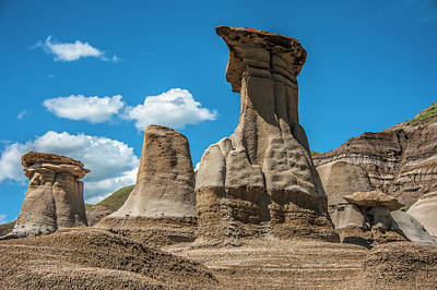 Photograph - Hoodoos Of Drumheller by Patrick Boening
