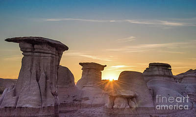 Photograph - Hoodoos Sunset by Bianca Nadeau